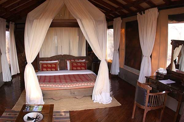 Luxury lodge rooms