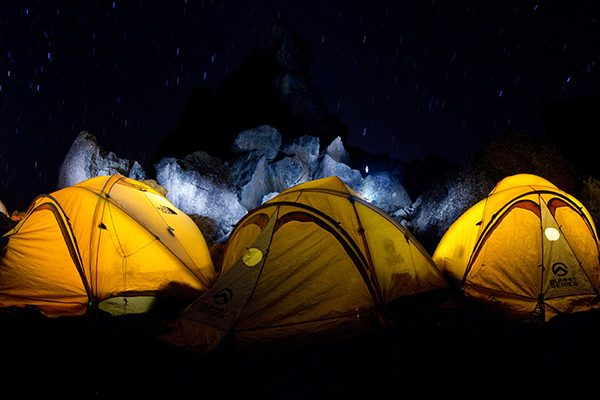 New 4-season mountain tents