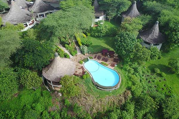 Lodging at Lake Manyara