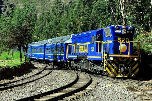 Hiram Bingham Train to from Machu Picchu