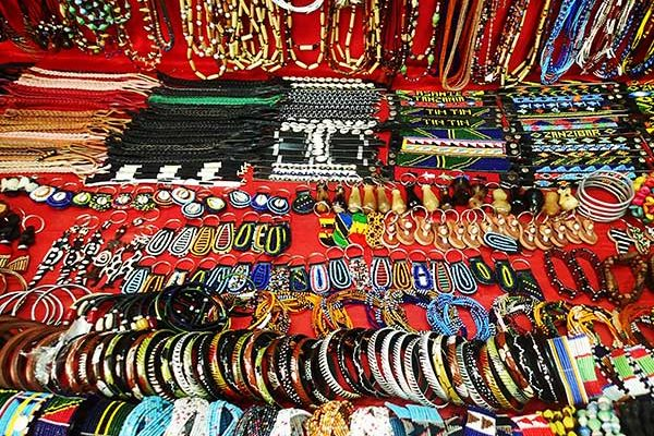 Local Tanzanian jewelry