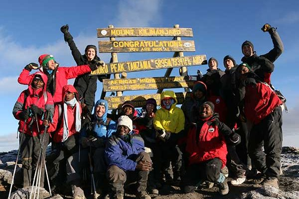 Success on Kilimanjaro