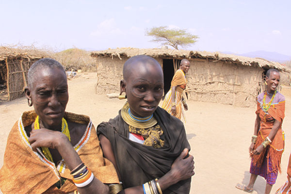 Women of the Maasai Tribe