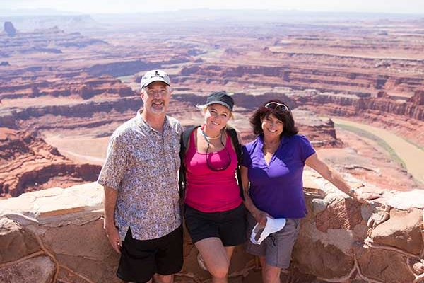 Group at Dead Horse Point