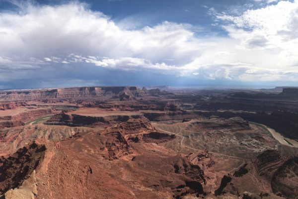 One of the most iconic views from Southern Utah, Dead Horse Point