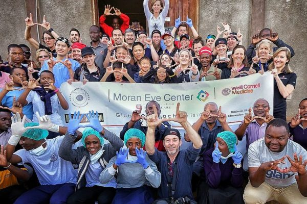 Cataract Intervention Clinic Group Photo