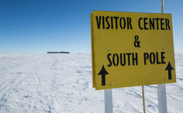 Approaching the South Pole