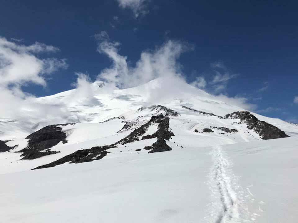 Success on Mt. Elbrus